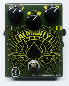 Daredevil Pedals Almighty Bass