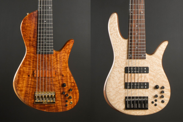 Fodera Introduces Emperor II Hybrid and Tony Grey Signature Monarch Basses