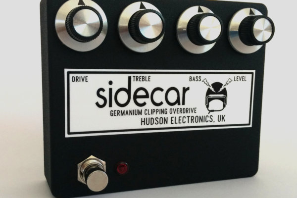 Hudson Electronics Introduces Sidecar Overdrive Pedal