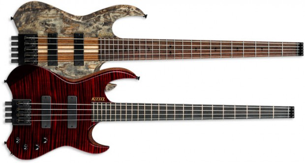 Kiesel Guitars Vader Headless Bass Series Basses