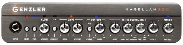 Genzler Amplification Magellan 800 - Front