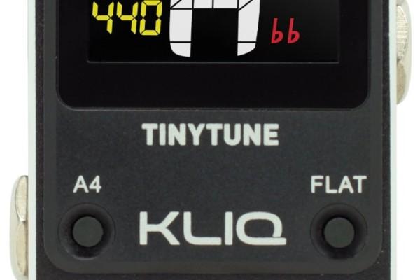 Kliq Introduces the TinyTune Pedal Tuner