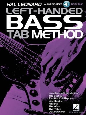 Hal Leonard Left-Handed Bass Tab Method — Book 1