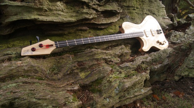 Letts Basses Yves Carbonne Signature 2-String Bass Left