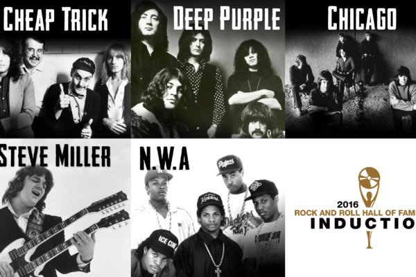 Rock and Roll Hall of Fame 2016 Announces Inductees