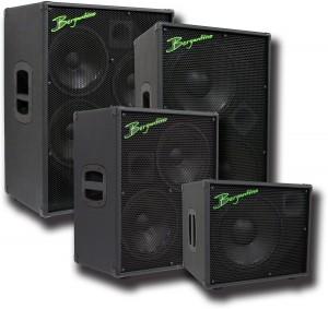 Bergantino HDN Bass Cabinet Family