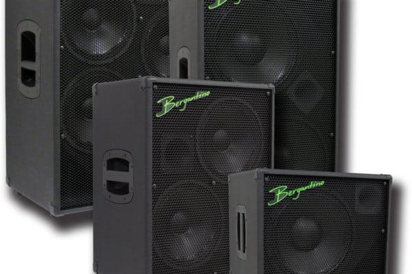 Bergantino Now Shipping HDN Bass Cabinet Series