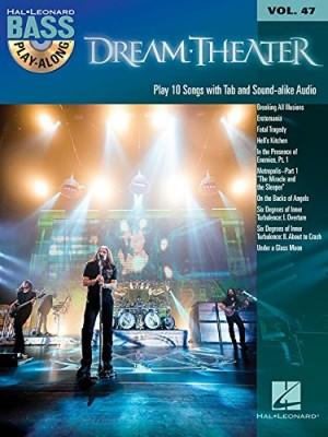 Dream Theater: Bass Play-Along Volume 47