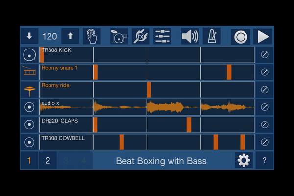 Create Beats on the Fly with VoxBeat App