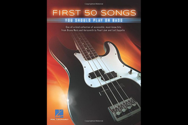 Songbook for Beginner Bassists Offers Wide Variety