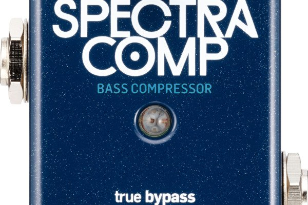 TC Electronic Introduces SpectraComp Bass Compressor Pedal