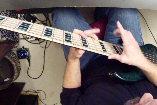 Derek Blakley: Haji's Kitchen Medley Bass Playthrough