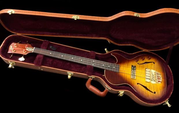 BG Guitars Big Sister Bass in Case