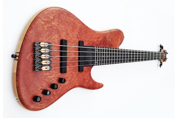 Surine Basses Introduces The Lunara NTVII Bass