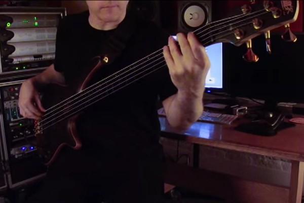 """Sean Malone: Cynic's """"Veil of Maya"""" Bass Playthrough"""