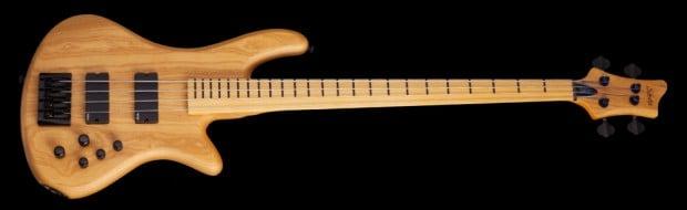 Schecter Stiletto Session 4-String Fretless Bass