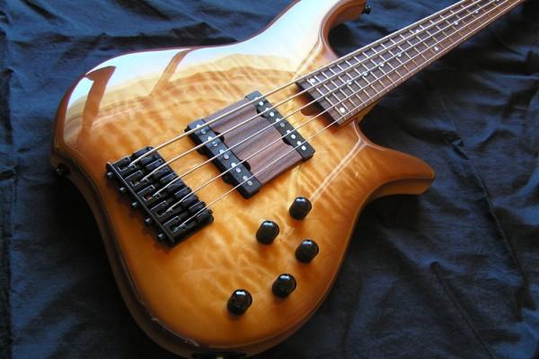 Bass of the Week: Wreck Guitars W Minor 5