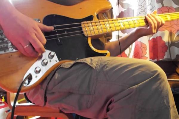 Ian Pettersson: Kiss (Solo Bass Prince Tribute)
