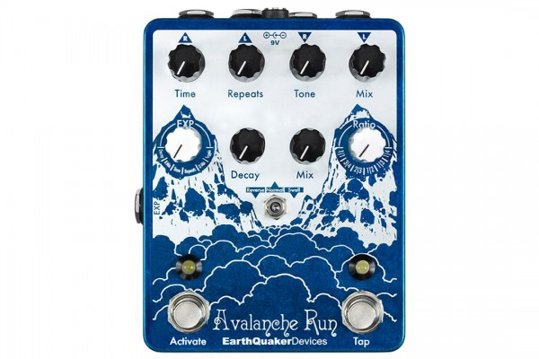 EarthQuaker Devices Releases Avalanche Run Pedal