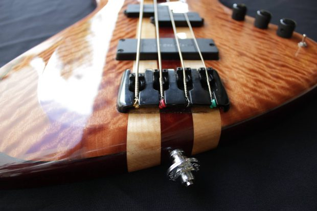 Fede Caceres Luthier El Cabure Bass Bridge
