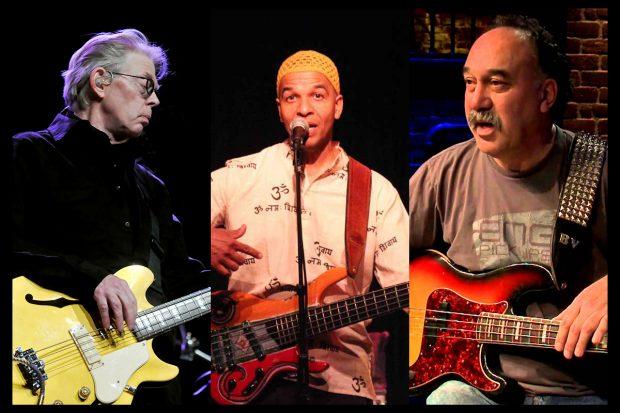 Jack Casady, Kai Eckhardt and Bobby Vega