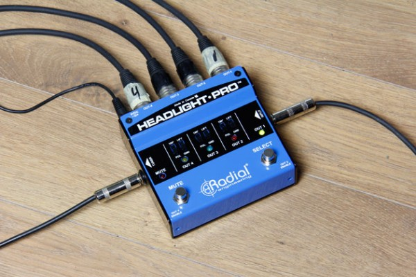 Radial Engineering Announces Headlight Pro Direct Box