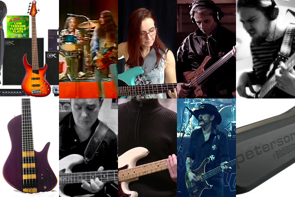 """Weekly Top 10: Robert """"Bubby"""" Lewis Bass Gear Contest, Talking Technique, Top Bass Videos, Lessons and More"""