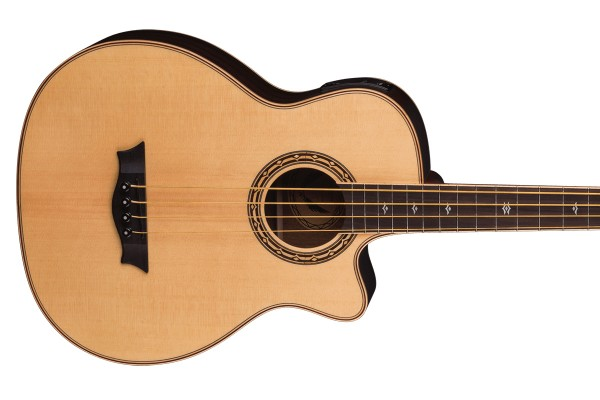 Dean Now Shipping Exotica Supreme Cutaway Acoustic/Electric Bass