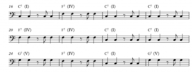 A Beginners Guide to Improvising a Bass Line - Exercise 3