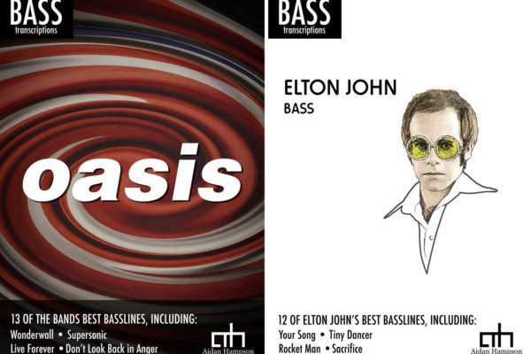 Aidan Hampson Transcribes Oasis and Elton John Bass Lines