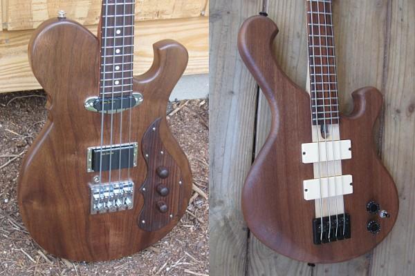Birdsong Guitars Introduces Sparrow Bass and SD Curlee Phoenix