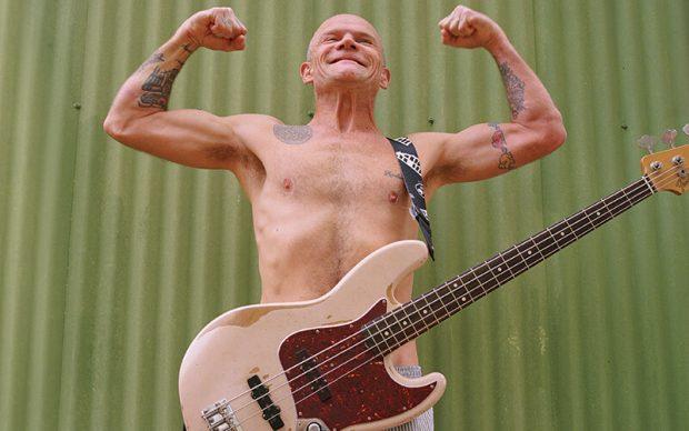 Flea with Fender Signature Jazz Bass