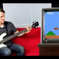 Nathan Navarro: Super Mario Bass Guitar Playthrough