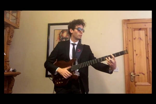 Karl Clews: The Pink Panther Theme (Solo Bass Arrangement and Transcription)