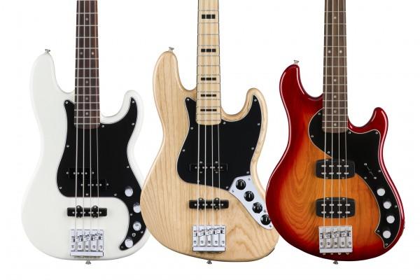 Fender Updates Deluxe Series Basses