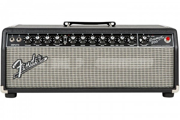 Fender Introduces 800-Watt Bassman Head