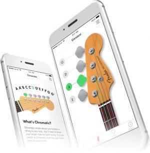 Fender Tuner app screen