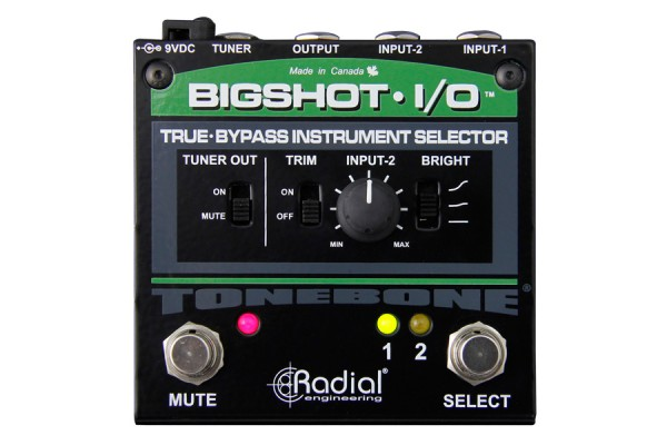Radial Engineering Revamps Bigshot i/o