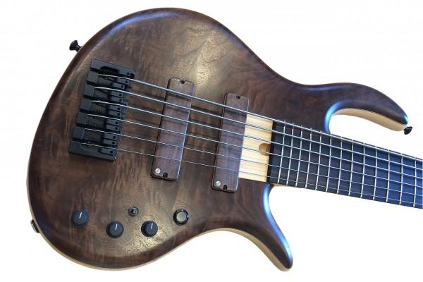 Elrick Bass Guitars Unveils Steve Lawson Signature Model