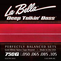 La Bella 760FS Flat Wound Strings