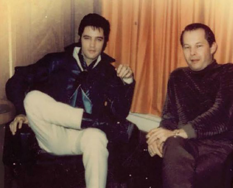 Tommy Cogbill with Elvis