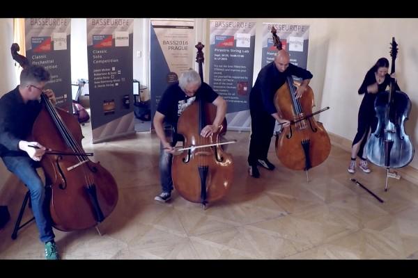 The Bassmonsters: Live in Prague