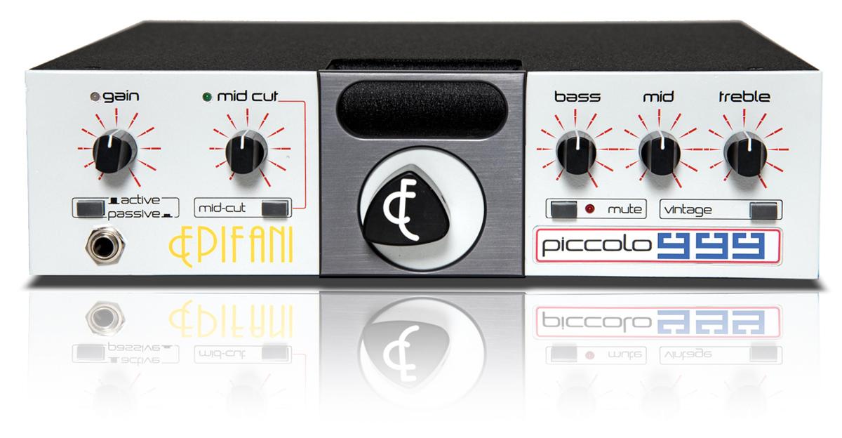 Epifani Amps Piccolo 999 Bass Amp