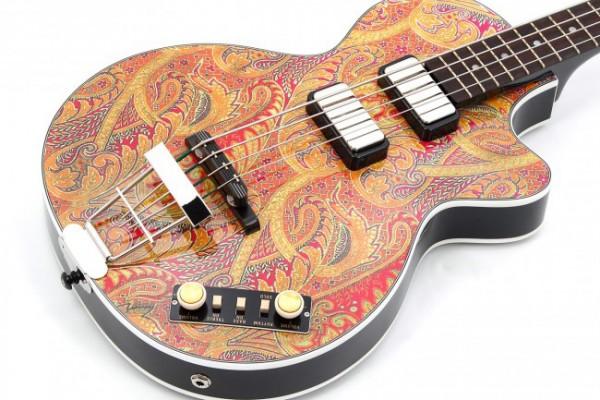 Bass of the Week: Höfner Guitars Gold Label Paisley 500/2 Club Bass