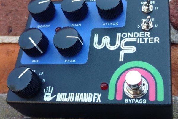 Mojo Hand FX Goes Retro With The Wonder Filter Envelope Pedal
