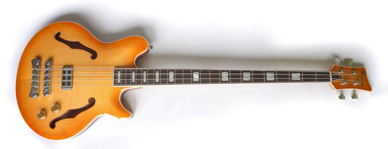 Ploughman Guitars Semi-Hollow Bass