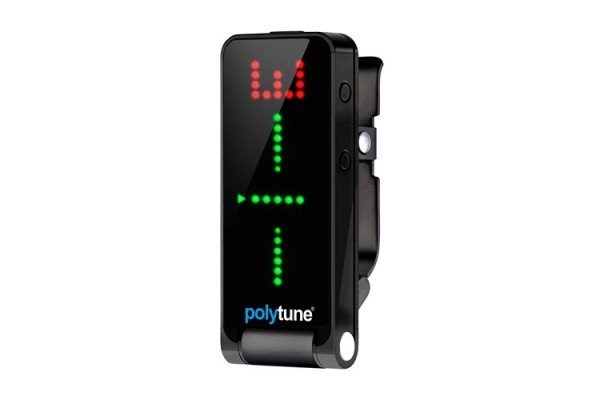 TC Electronic Introduces Black Polytune Clip-On Tuner