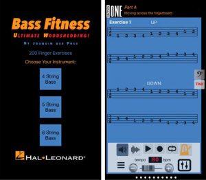 The Bass Fitness App Screenshot