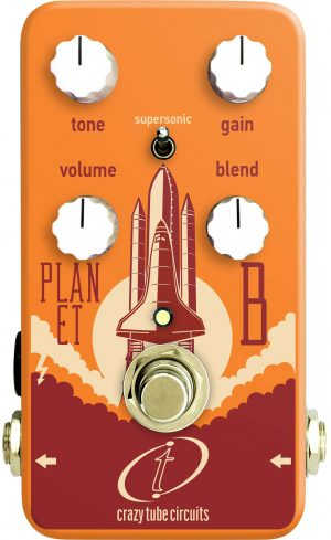 Crazy Tube Circuits Planet B Overdrive Pedal