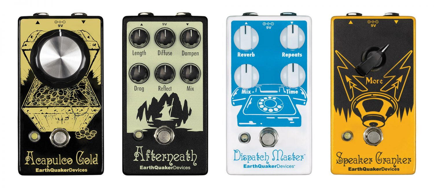 Earthquaker Devices New Pedals